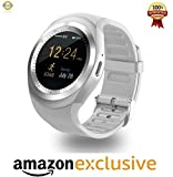 Mobile Link Micromax Bolt S302 Compatible Bluetooth Smartwatch With Sim, Tf Card Support Runs Apps Like Facebook And Whatsapp Touch Screen Multilanguage Android/Ios Mobile Phone Wrist Watch Phone With Activity Trackers Anti Lost feature and Fitness Band Lowest Price Color May Vary