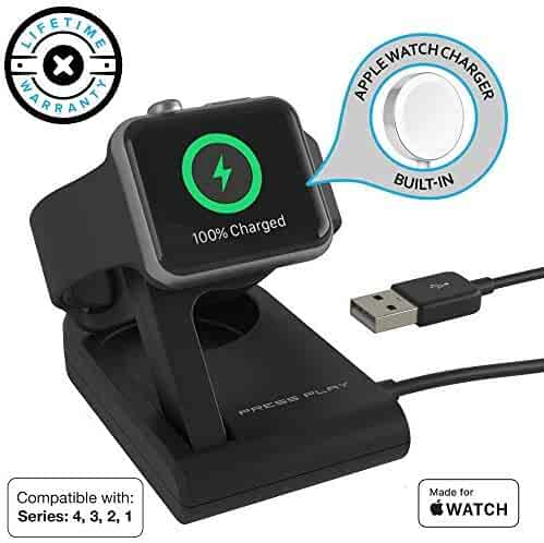huge selection of f9579 2f73f Apple Watch Charger (Apple Certified) ONE Dock Solo, Built-in Original  Magnetic