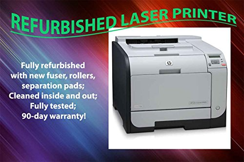 HP Color Laserjet CP2025dn Laser Printer CP2025 CB495A Refurbished with 90-Day Warranty