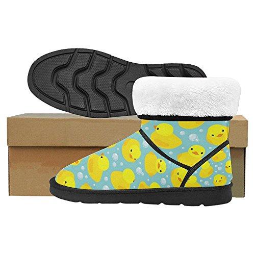 Snow Stivali Da Donna Di Interestprint Design Unico Comfort Invernale Stivali Multi 8