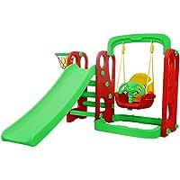 Playgro Super Senior Slide and Hanging Swing Combo (Multicolour)