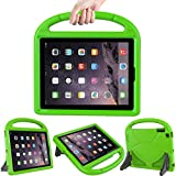 LEDNICEKER Kids Case for iPad 2 3 4 - Light Weight Shock Proof Handle Friendly Convertible Stand Kids Case for iPad 2, iPad 3rd Generation, iPad 4th Gen Tablet - Green