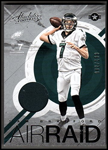 2016 Absolute Air Raid Materials #13 Sam Bradford Jersey EAGLES 042/199 - NM-MT