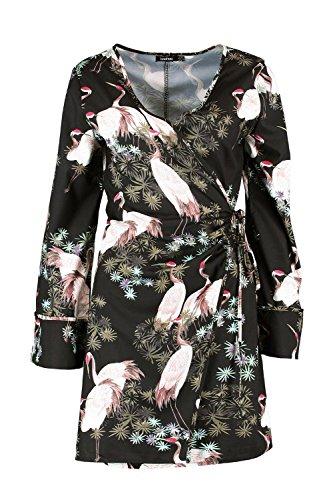oriental kimono dress - 5