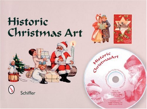 (Historic Christmas Art: Santa, Angles, Poinsettia, Holly, Nativity, Children, And)
