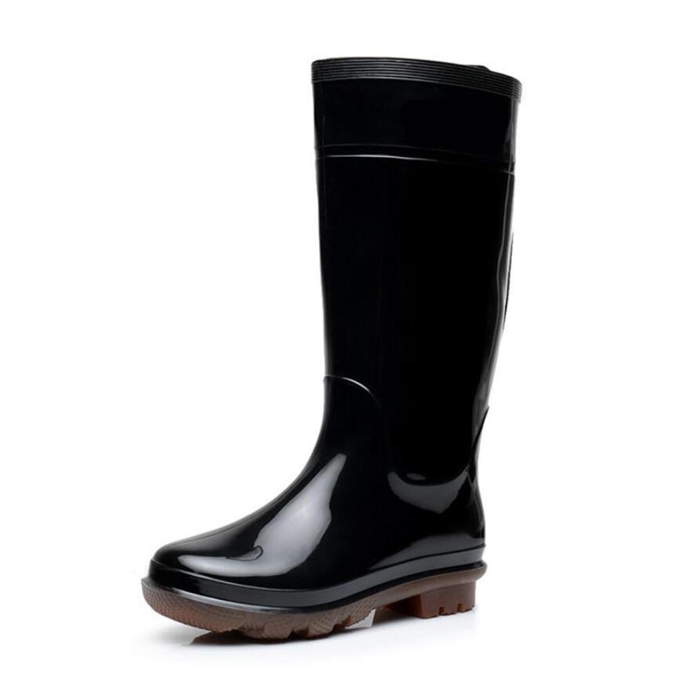 Herren hohe Stiefel   Sehnen Unterzieher     Autowasch wasserdichte Stiefel   Fischerei Überschuh   schwarz B07BDJ5FRT Sport- & Outdoorschuhe Schnelle Lieferung 92194c