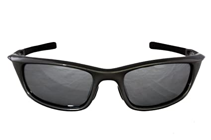 Foster Grant Ironman inundation Pol fg60 Unisex Wrap estilo gafas de deporte Gun Negro Marco de
