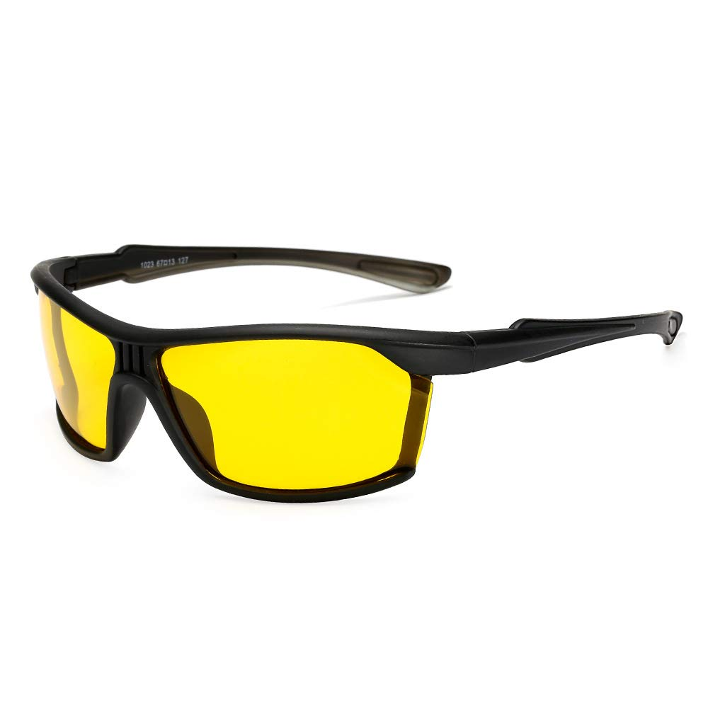 A4 Men's Polarized Sunglasses, UV400 Predective Mirror, Lightweight for Driving Or Sports Activities