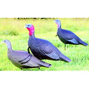 Flambeau Turkey Love Triangle Set Decoy