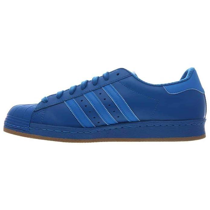 Adidas Originals Superstar 80s Reflective Trainers Blau