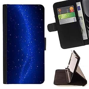 Kingstore / - Múltiples Estrellas En Azul - Samsung Galaxy S4 Mini i9190