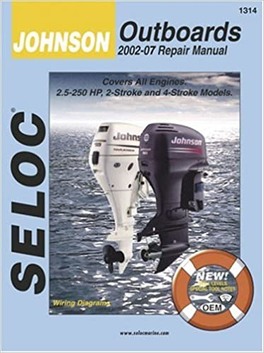 seloc johnson/outboards 2002-07 repair manual: all 2-stroke and 4-stroke  models: kevin m  g  maher: 0715568013149: amazon com: books