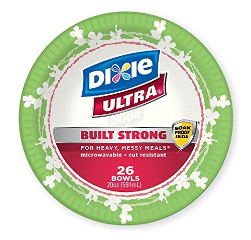 Dixie Ultra Disposable Bowls, 26 Count (Pack of 4) by Dixie Ultra