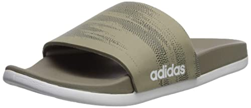 a36afd884e32 adidas Men s Adilette Cloudfoam+ Link GR Slides  Amazon.ca  Shoes ...