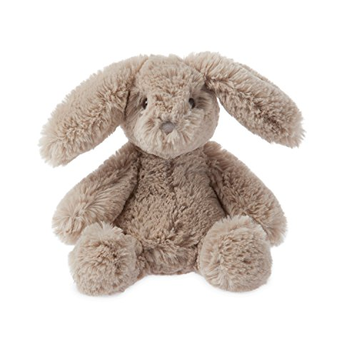 "Manhattan Toy Lovelies Latte Bunny Plush Animal Toy, 8"""