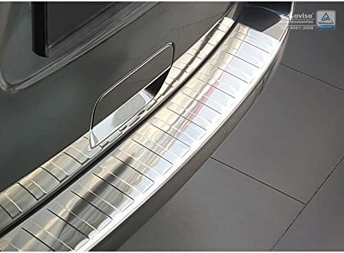 Avisa 2//35995 Protezione paraurti Posteriore in Acciaio Inox Compatibile con Citro/ën Spacetourer//Peugeot Traveller//Toyota Proace Verso 2016-// Opel Vivaro 2019-Ribs Argento