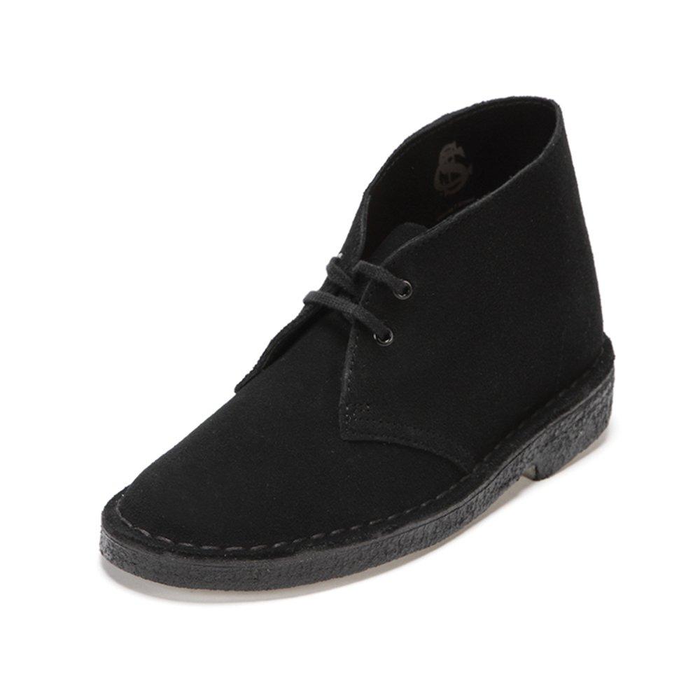 Dettagli su Clarks Originals Boot, Stivali Desert Boots Donna 42 EU, Black