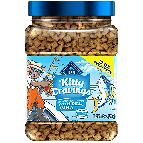 Blue Buffalo Blue Kitty Cravings Crunchy Cat Treats