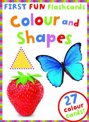 First Fun Flashcards Colours and Shapes