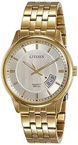 Citizen Men White Dial Stainless Steel Band Watch - BI1052-85P