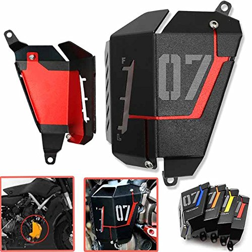 Radiator Water Coolant Resevoir Tank Guard Cover For Yamaha MT07 2013-2017 (Radiator Side Cover)