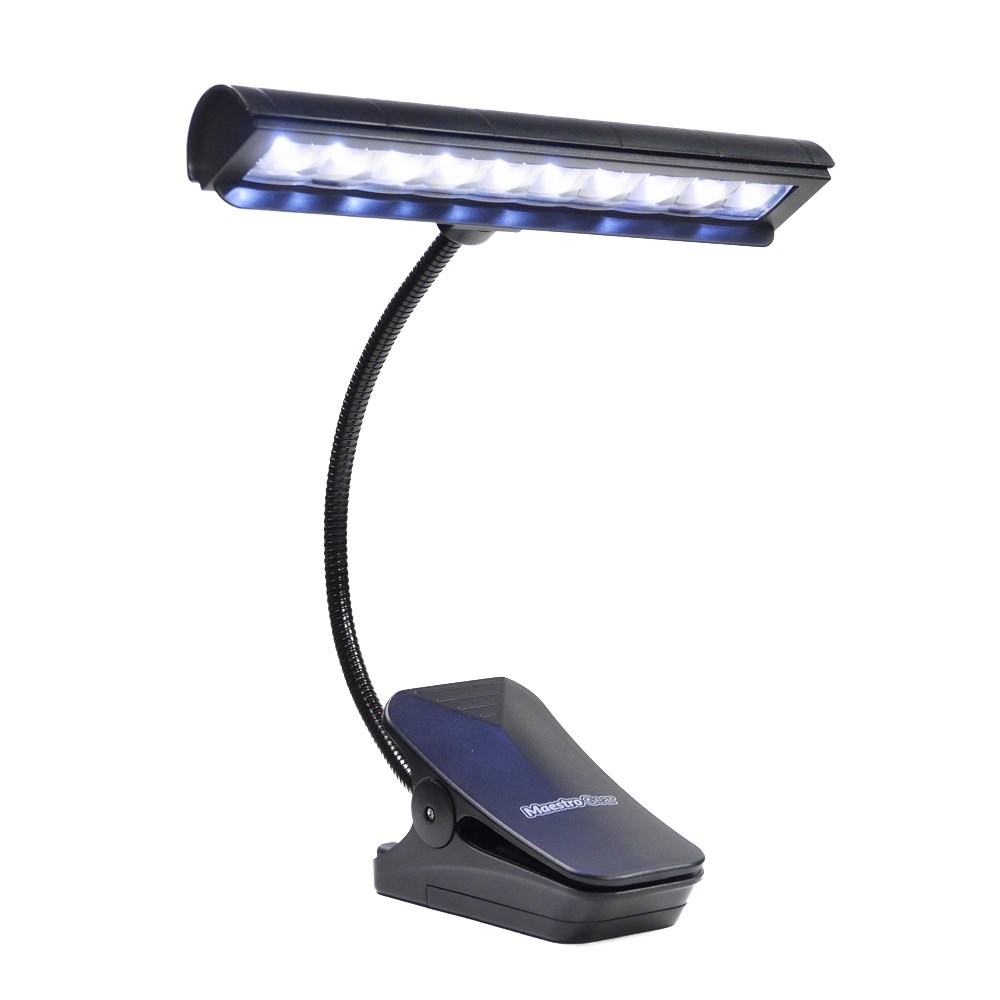 10 LED MUSIC STAND LIGHT / Orchestra Lamp / Piano Light by MAESTRO GEAR MaestroGear 10772054