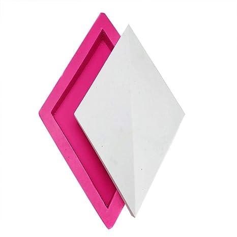 wonderfulwu - Molde de Silicona para Pared, diseño de Yeso