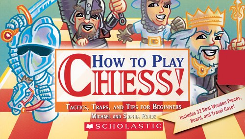 How To Play Chess! Tactics, Traps, And Tips For Beginners by Tangerine Press