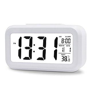 LED Reloj Digital Reloj Despertador Iluminación Reloj Despertador Digital Reloj De Viaje Con Pantalla De Fecha