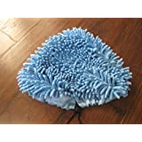 (2) H20flo Coral Steam Mop Pads