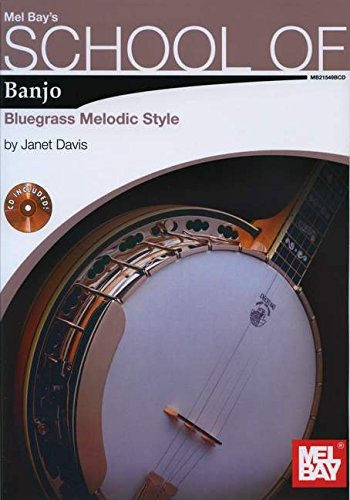 School of Banjo: Bluegrass Melodic Style Book/2-CD Set