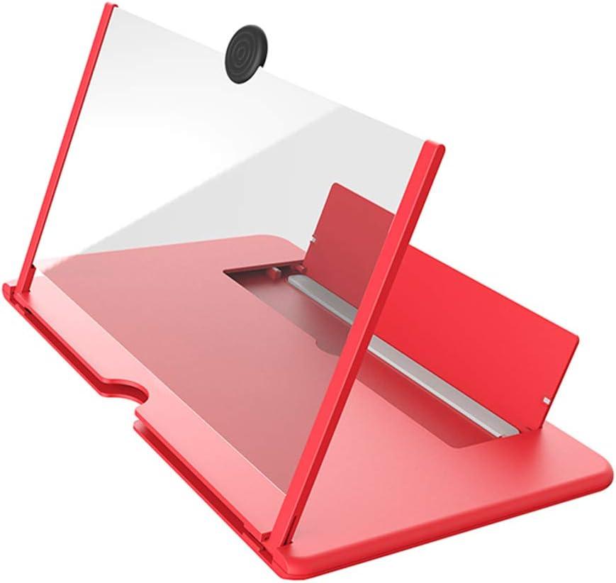 JOYKK Pull Type Amplificador de tel/éfono Celular Lupa de Pantalla Grande 3D Soporte para tel/éfono de Escritorio