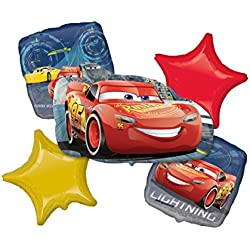 Anagram Disney Cars Lightning McQueen Bouquet of Balloons AMZKIT849