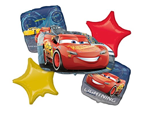 Anagram International Bouquet Cars 3 Lightning -