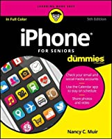 iPhone For Seniors For Dummies, 5th Edition Front Cover
