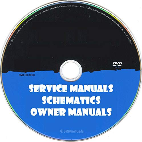 FidgetGear Repair Service Ownes Manuals Schematics- PDFs on DVD - Huge Collection Show One Size