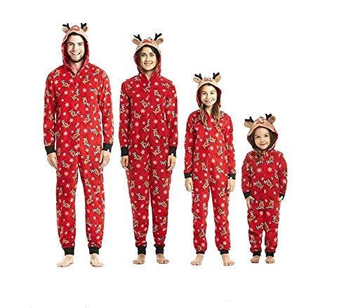 Pijamas una Pieza Familiares de Navidad