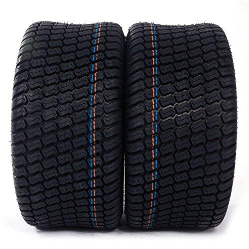 MOTORHOT 2 pcs 23x10.5-12 Turf Tires P332 /4PR Lawn Mower Golf Cart Garden Tire