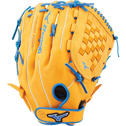 Slowpitch Softball GMVP1400PSES6 Utility 312531 Mitts, Size 14, Cork/Royal ()
