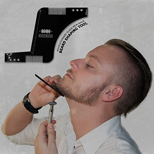 how to use beard shaping tool