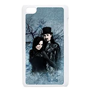 Nightwish 2 funda iPod Touch 4 caja funda del teléfono celular blanco cubierta de la caja funda EEECBCAAJ05045