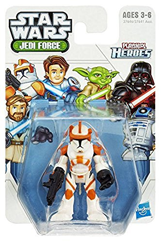 1 X Star Wars Jedi Force Commander Cody (Playskool Heroes) (Star Wars Commander Cody)
