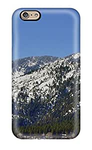 New Premium Flip Case Cover Mountains Earth Skin Case For Iphone 6