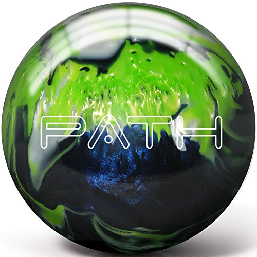 Pyramid Path Bowling Ball (Navy/Lime Green/White, 8 LB)