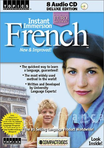 "Instant Immersion French: ""New & Improved!"" (Topics Entertainment-Languages (CD))"