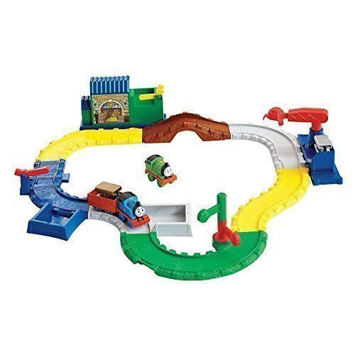 Sodor Cargo Crane - Fisher-Price My First Thomas and Friends Gold Rush Delivery Set