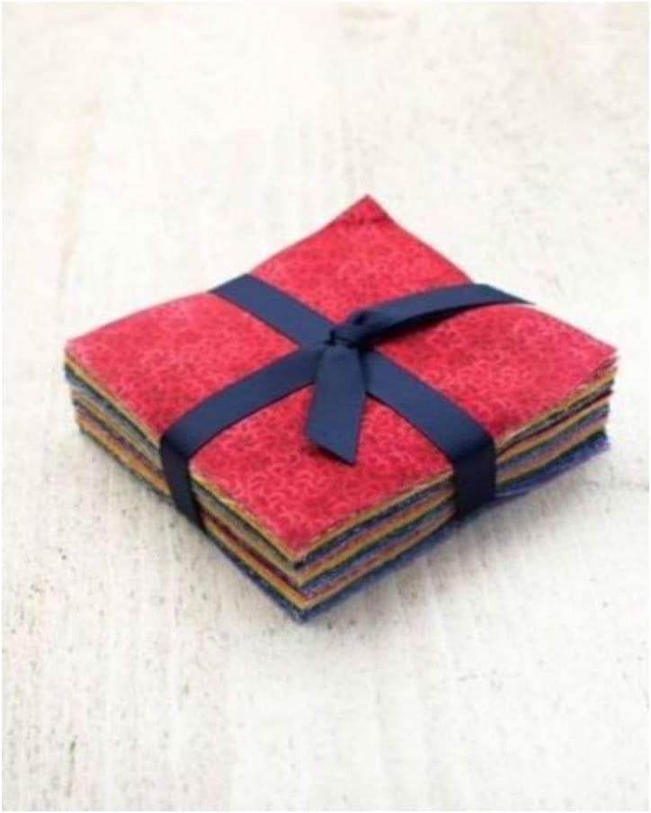 108 Rainbow Basics pre Cut Charm Pack 5 Squares 100/% Cotton Fabric Quilt