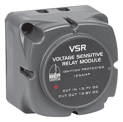 BEP Marine 710125A 125AMP Voltage Sensitive Relay
