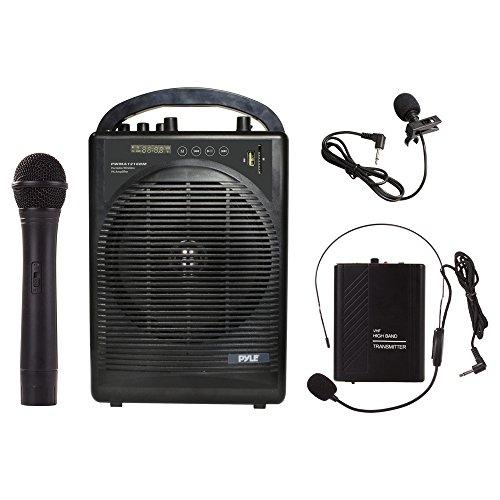 portable microphone headset with speaker. Black Bedroom Furniture Sets. Home Design Ideas