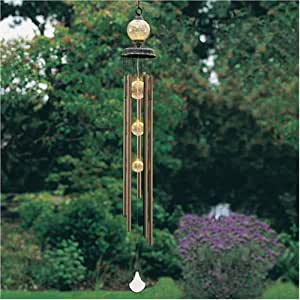 Amazon Com Wind Chime With Solar Powered Light With 4